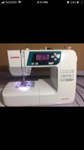 Janome sewing machine 375 obo