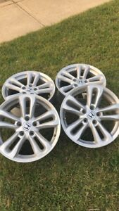 "Honda 5 bolt factory 17"" rims"