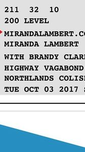 Miranda lambert, highway vagabond, etc.moved to BC, CHEAP
