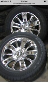 Chevrolet high country rims and tires