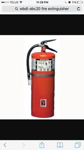 Strike First brand 20 lb. ABC fire extinguisher