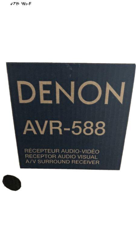 DENON AVR588 Surround Sound Receiver Brand New