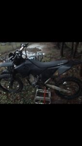 2007 Ktm 530 with paper and track kit