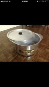 ALUMINUM COOKING POT 10LITRE