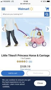 Little Tikes® Princess Horse & Carriage