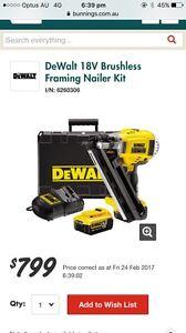 Brand new Dewalt nail gun Georges Hall Bankstown Area Preview