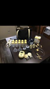Medela Freestyle Double Electric Pump - Plus TONS of Accessories