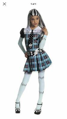 Monster High Frankie Stein Child Halloween Costume (Rubies Frankie Stein Monster High Girls Child Halloween Costume Medium 8-10)
