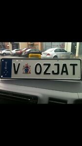 """""""OZJAT"""" number plate for sale Craigieburn Hume Area Preview"""