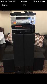 Vintage pioneer video stereo receiver vsx 536s stereo systems pioneer stereo system fandeluxe Gallery