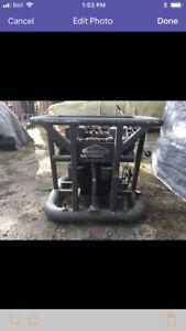 Military compressor 300 psi output 9 hp