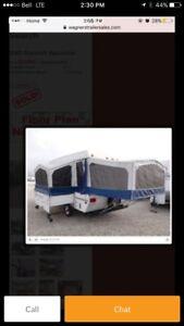 2000 Starcraft tent trailer with slide