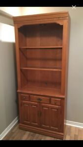 Roxton display cabinet bookcase