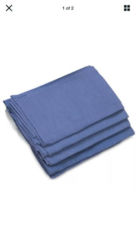 Blue Surgical Towels, Cleaning Janitorial Window Rags