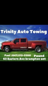 Trinity Auto Towing  call paul at (647)212-3300
