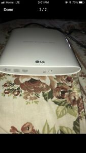 LG portable super multi drive