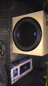 Planet Audio Subs and Amp