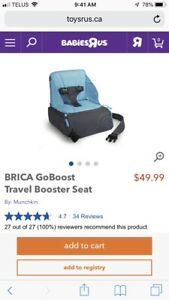 Munchkin Travel Carry Portable Booster Seat
