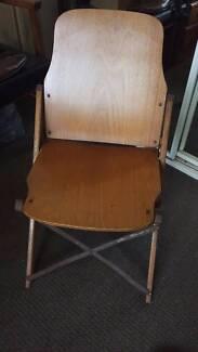 Wooden Fold Out Choir Chair