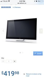 "23"" Acer touch screen monitor"