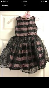 Girls size 5 dresses- children's place & H&M