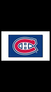 CANADIENS MAT AREA RUG