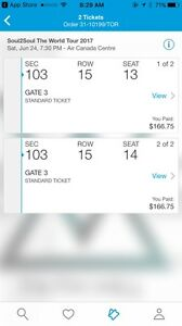 Tim McGraw tickets for June 24th in Toronto