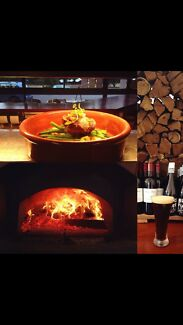 Woodfired pizza restaurant for sale