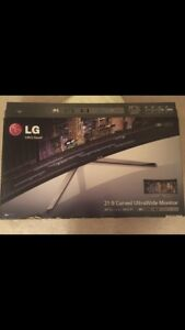 LG curved monitor 34UC97