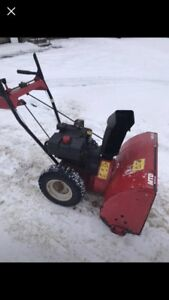 Snowblowers for sale all tuned up ready for the snow