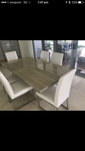 Stunning furniture suite Dining Table, Chairs, Buffet, Enter Unit etc Merrimac Gold Coast City Preview