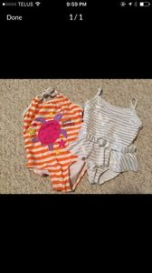 3T girls bathing suits