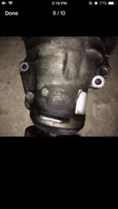 BMW front differential