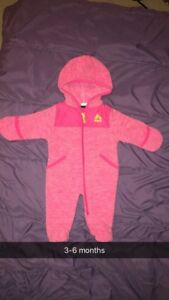 RBX 3-6 months snowsuit (girl)
