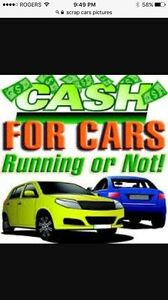 pay top dollar $$ for your scrap cars