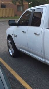 "Dodge Ram 24"" Rims and tires"