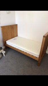 Boori Cot / Bed with mattress Sandy Bay Hobart City Preview