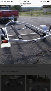 Wanted boat trailer