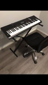 Casio CTK 3200 Piano/Keyboard with Stand