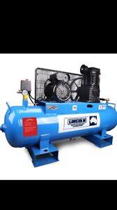 Lincoln 100L 3HP Air compressor Brand New Wallsend Newcastle Area Preview