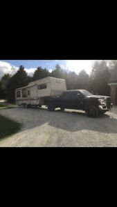 Trailer moving and outdoor storage
