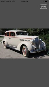 1937 Packard 4 Door Sedan For Sale