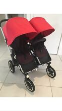 Bugaboo donkey duo with 2 seats 2 bassinets 2 snack tray etc Epping Ryde Area Preview