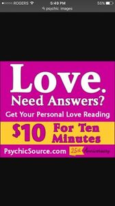 Psychic reading call now