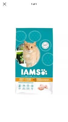 Iams Cat Adult Light In Fat Chicken 700g Bargain✅