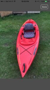 Ascend kayak. Sit in. Great condition. Stored indoors.