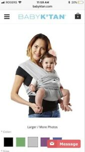 Baby K'Tan Carrier Wrap / Sling