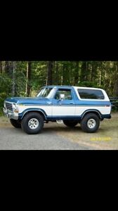 70's Ford truck or bronco