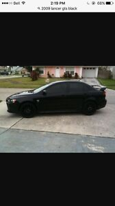 Looking for black 2009-12 lancer gts