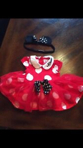 Size 0-3 month Minnie Mouse costune